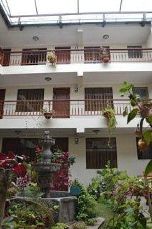 Antawasi Hotel: Open Atrium, you can hear it all