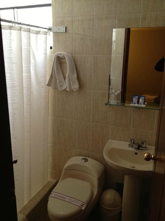 Antawasi Hotel: Leaking toilet, management will try to make you pay for any wear and tear