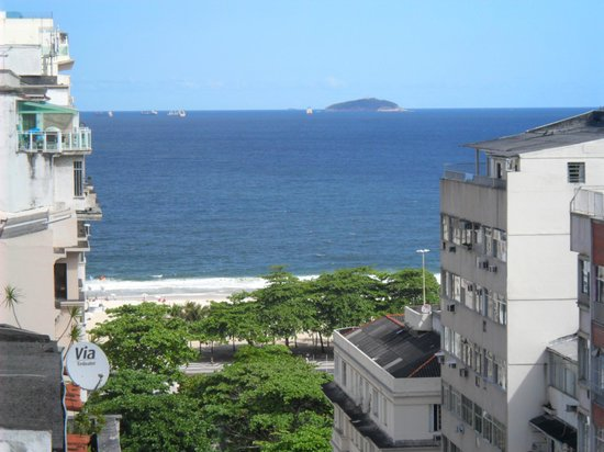 Ibiza Copacabana Hotel: Vista da Varanda do Apartamento.