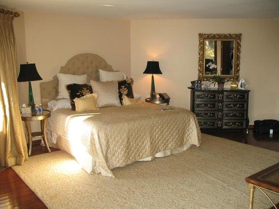 Parma in Little Washington: Bedroom