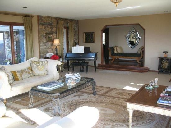 Parma in Little Washington: The inn's sitting room