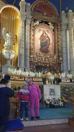 Sanctuary of El Socavon: Santuario de la mamita del Socavon