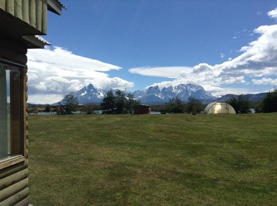 Hotel del Paine : the view from our cabin!