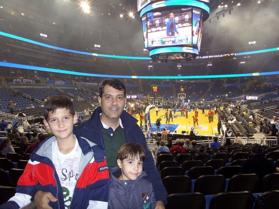 Amway Center: Orlando Magics X Milwaukee Bucks