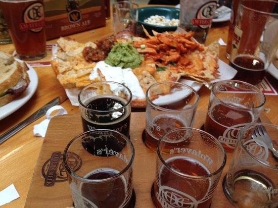 Otter Creek Brewing: Nachos and Beer Sampler