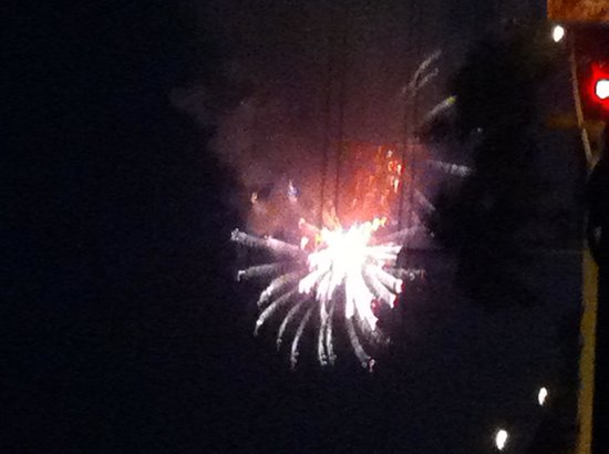 BEST WESTERN PLUS Stovall's Inn: fireworks