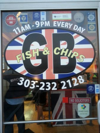 GB Fish and Chips : GB