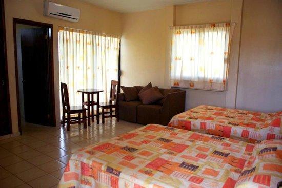 Hotel Xcaanda: Suite con balcon.