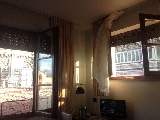 Hotel Duomo Firenze: Quarto top