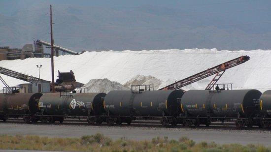 Great Salt Lake : estrazione del sale