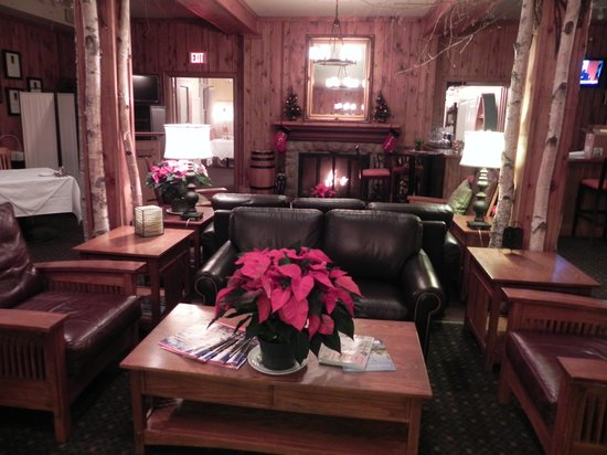 Port Carling, Canada: Cosy lounge