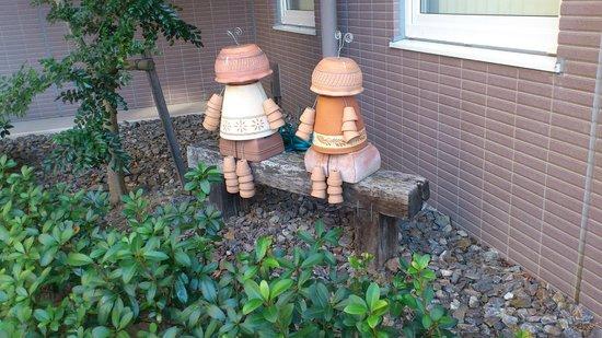 Toyoko Inn Chubu Kokusai-kuko Honkan Green Side: A garden ornament
