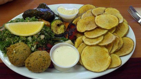 Palm Kabob House : Vegetarian Platter