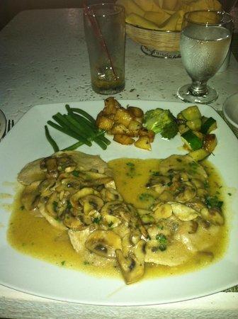 Hostaria da' Vittorio : Surprisingly little flavor!