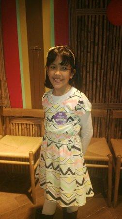 KidZania Santiago: Carolina a aniversariante