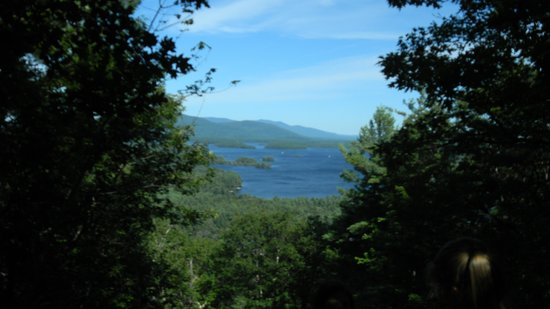 "Squam Lakes Natural Science Center: Great view from the ""mountain"" hike!"