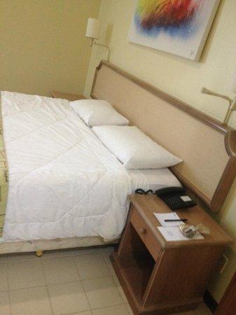 Prodigy Hotel Recife: Cama confortável