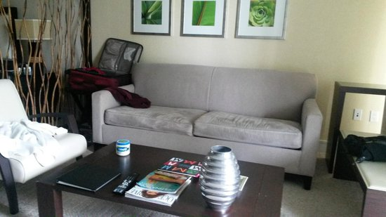 Provident Doral at The Blue Miami: Room 1011. Living room.