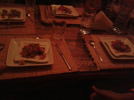 Riad Dar Etto: Diner préparé par la gentille Latifa