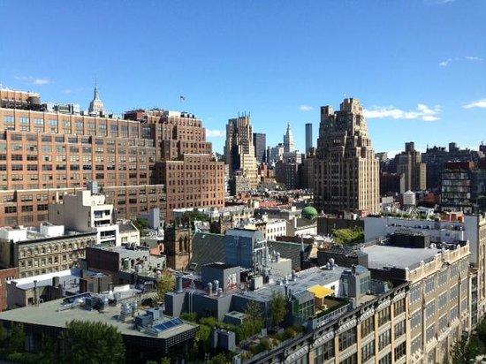 Gansevoort Meatpacking NYC : Vista do rooftop