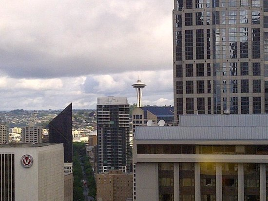 Crowne Plaza Seattle Downtown Area: View of Seattle from room