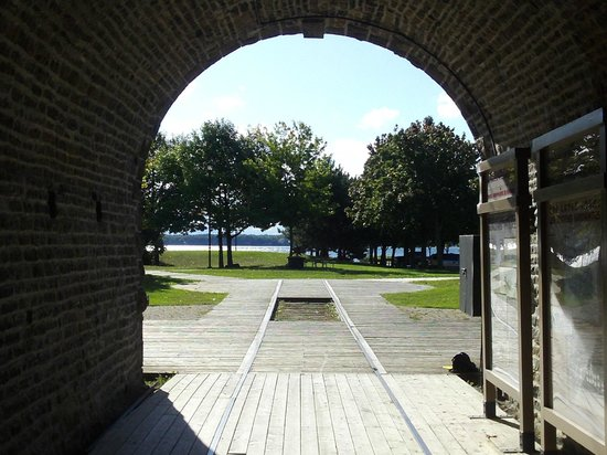 Brockville Railroad Tunnel: On a hot day the Railway Tunnel is always cool.