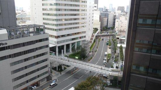 Hotel Sunroute Plaza Shinjuku: Room 1229, day view