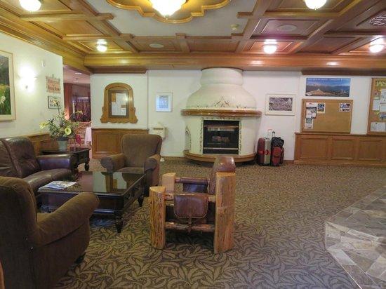 Whistlers Inn lobby