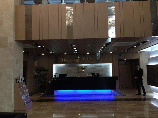 GG Tourist Hotel: フロント