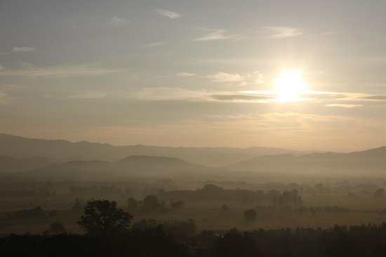 Doi Saket, Thailand: nice way to start the day