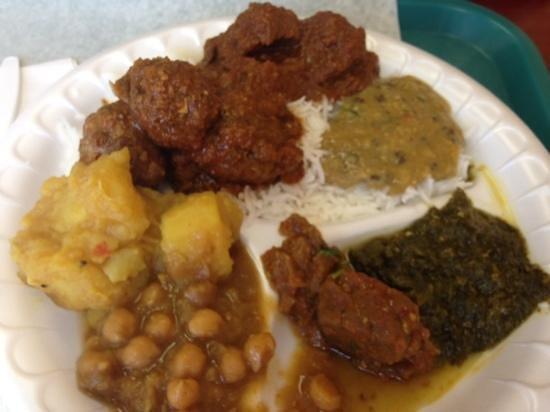 Al-Zaytoun Kabob and Grill: buffet