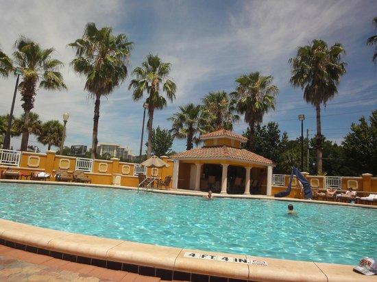 Radisson Hotel Orlando - Lake Buena Vista: Parque aquático do Radisson Hotel Orlando