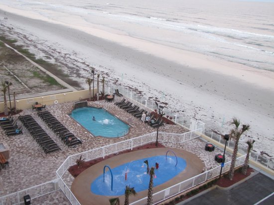 Hampton Inn Daytona Beach/Beachfront: View from the 7th Floor