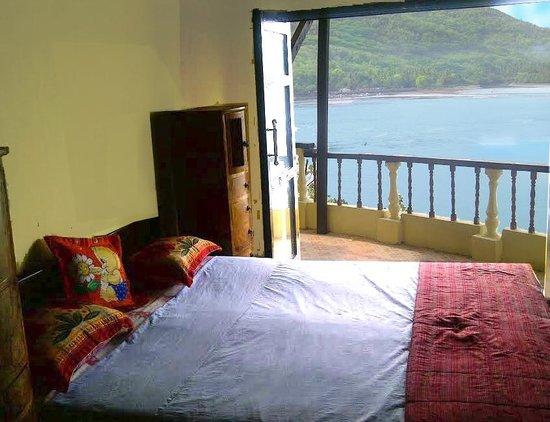 Secret Island Resort: photo from inside Villa showing new doors