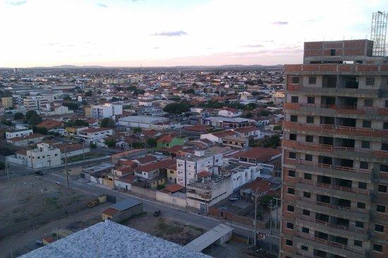 Nobile Suítes Del Rio Petrolina: Vista de trás do hotel no Roof Top.