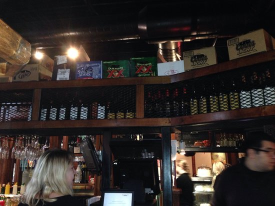 Black Walnut Cafe - The Woodlands: Just a small part of the bar. The restaurant is focused around the huge bar.