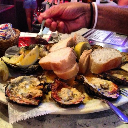 Acme Oyster House: Chargrilled Oysters