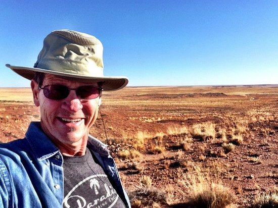 Homolovi Ruins State Park: Homolovi State Park Indian Ruins & Terry Hunefeld