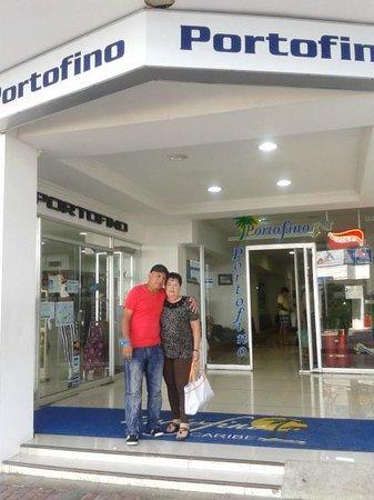 Hotel Portofino: entrada del hotel