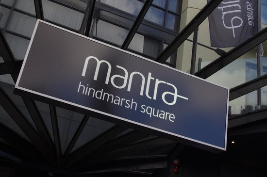 Mantra Hindmarsh Square: a great hotel