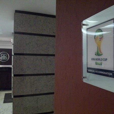 Bourbon Alphaville Business Hotel : Acomodação credenciada para a copa!