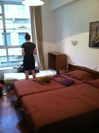 Arethusa Hotel: The room itself