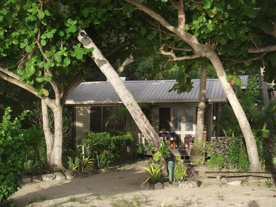 Nanuya Island Resort: our cottage.  It had everything we needed