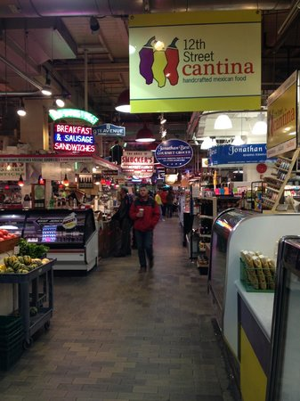 Reading Terminal Market: A view of the market