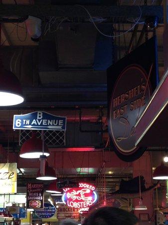 Reading Terminal Market: Hershel's