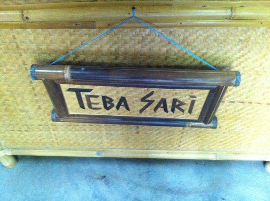 Teba Sari Bali Agrotourism: Tea Shop Entrance..... Not what I'd call a bargain. Maximum tourist prices ahead.