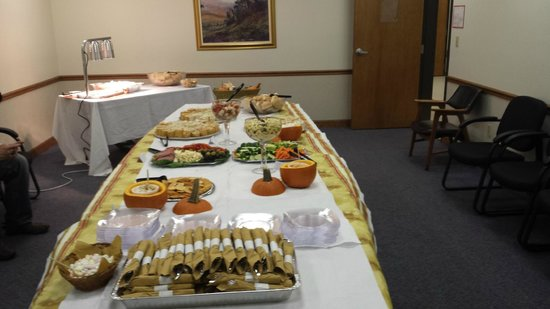 Nikoli's Pizza and Catering: business mixer catering