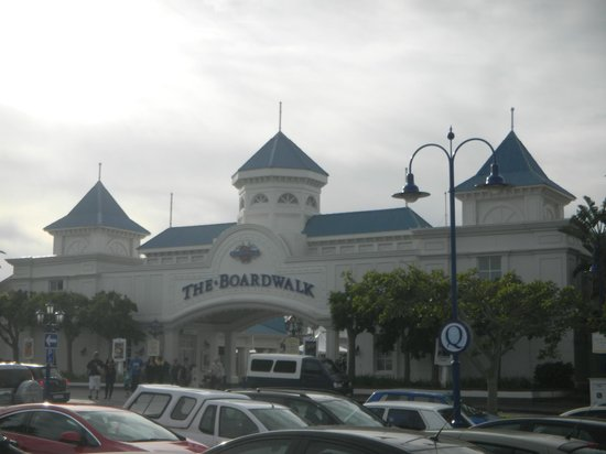 The Boardwalk Casino & Entertainment World: The Boardwalk (Eingangsportal)