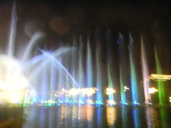 The Boardwalk Casino & Entertainment World: Wassershow