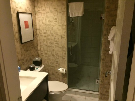 Copley Square Hotel : Bathroom with walk-in shower